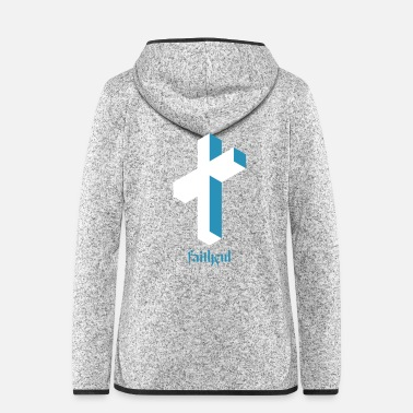 Christian Christian believer cross - Women's Hooded Fleece Jacket