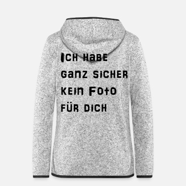 Model Topmodel Gntm - Frauen Fleece Kapuzenjacke