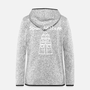 Party Sound6stem Free Party is geen misdaad - Vrouwen fleece jack