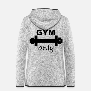 Mc GYM ONLY - Frauen Fleece Kapuzenjacke