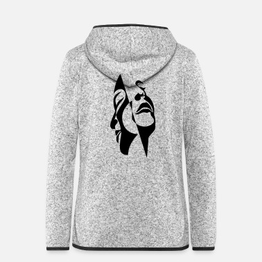 Together Heads together - Women's Hooded Fleece Jacket