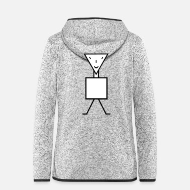 Goblin stick figure - Vrouwen fleece jack