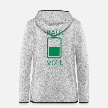 Download Half full - Women's Hooded Fleece Jacket