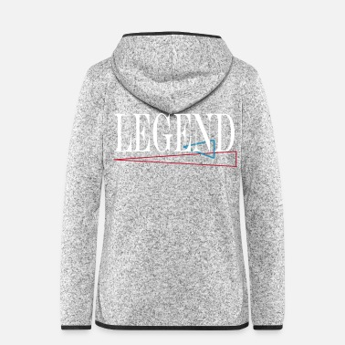 Gentleman legend - Frauen Fleece Kapuzenjacke