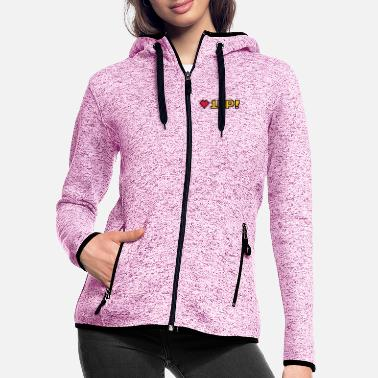 Birthday 8-Bit 1UP - Women's Hooded Fleece Jacket