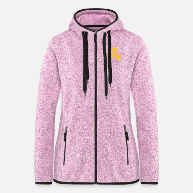 Radio Radio Active 1c - Frauen Fleece Kapuzenjacke