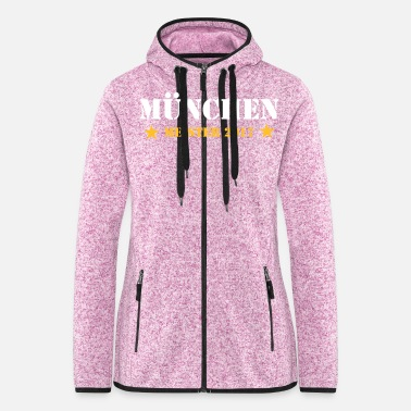 German Master 2017 Munich - Women's Hooded Fleece Jacket