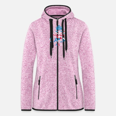 Jack surfer_boy - Women's Hooded Fleece Jacket