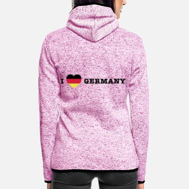 Germany germany Germany - Women's Hooded Fleece Jacket