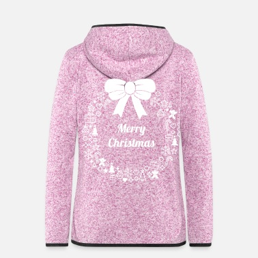 Advent Merry Christmas Christmas time Advent family - Women's Hooded Fleece Jacket