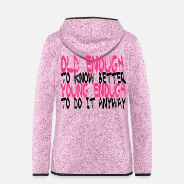 Quotation Birthday Shirt - Best Quotation - Women's Hooded Fleece Jacket
