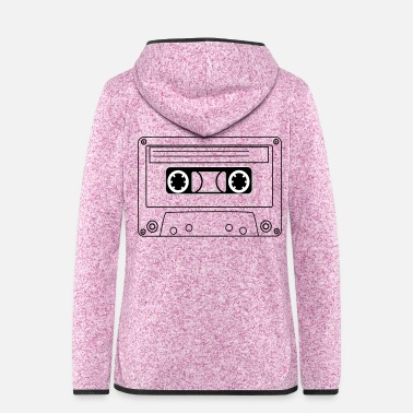 Tape Tape - Frauen Fleece Kapuzenjacke