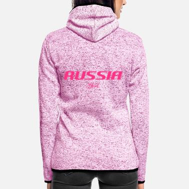 Tchaikovsky RUSSIA GIRL - Women's Hooded Fleece Jacket