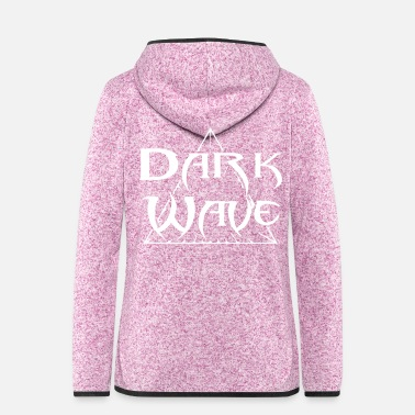 Dark Wave Dark Wave - Women's Hooded Fleece Jacket