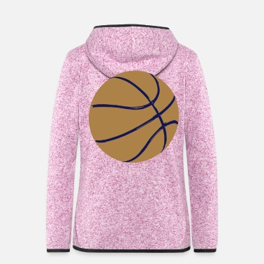 Basket basket-ball - Women's Hooded Fleece Jacket