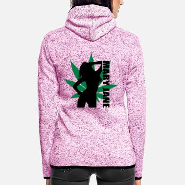 Mary Jane Mary Jane - Frauen Fleece Kapuzenjacke