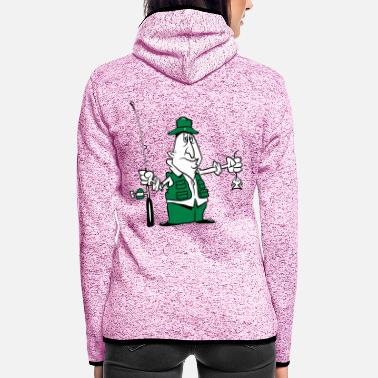 Pitch Fishing funny pitch - Women's Hooded Fleece Jacket