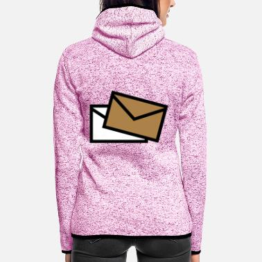 Post Post - Mail - poste / Brief - letter - lettre - Women's Hooded Fleece Jacket