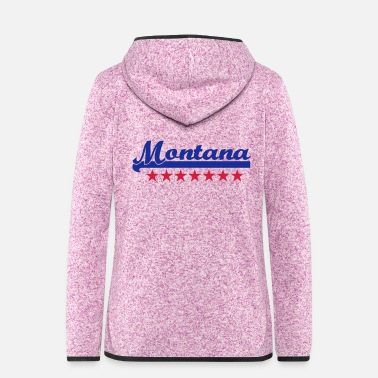Montana montana - Women's Hooded Fleece Jacket
