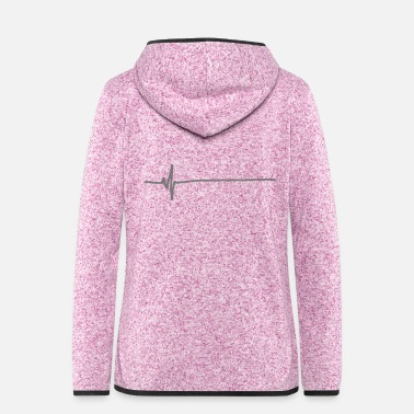 Flatline - Women's Hooded Fleece Jacket