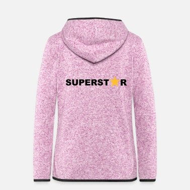 Superstar Superstar - Women's Hooded Fleece Jacket