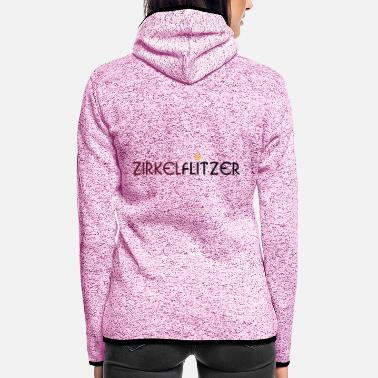 Streaker Circle Streaker - Women's Hooded Fleece Jacket