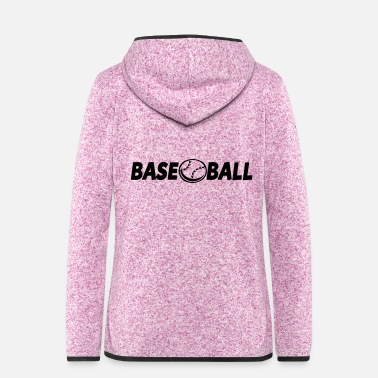 Softball base-ball - Veste à capuche polaire Femme