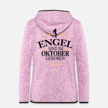 October Angel October - Women's Hooded Fleece Jacket