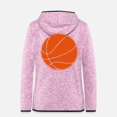 Basket Basket ball - Women's Hooded Fleece Jacket