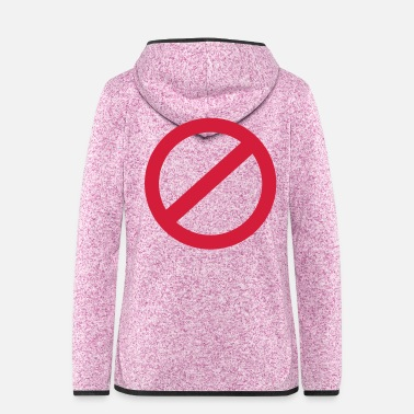 Ban No Ban - Women's Hooded Fleece Jacket