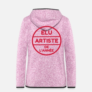 Music Artist / Art / Künstler / Artiste / Music / Kunst - Women's Hooded Fleece Jacket