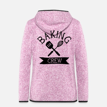 Cuisine baking crew mixer - Frauen Fleece Kapuzenjacke