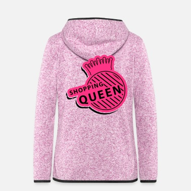 Hobby shopping_queen_gi2 - Women's Hooded Fleece Jacket
