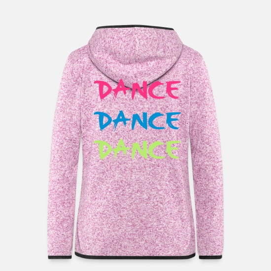 Dance Jackets - Dance - Women's Hooded Fleece Jacket purple heather