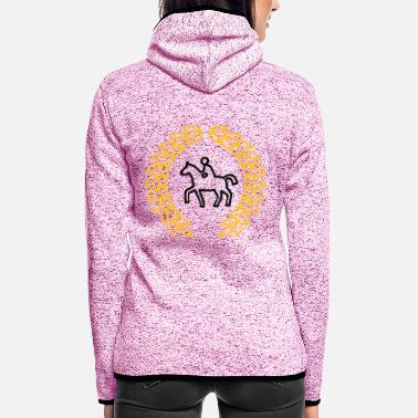 Horseman horseman icon - Women's Hooded Fleece Jacket