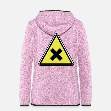 Health Health Danger - Frauen Fleece Kapuzenjacke