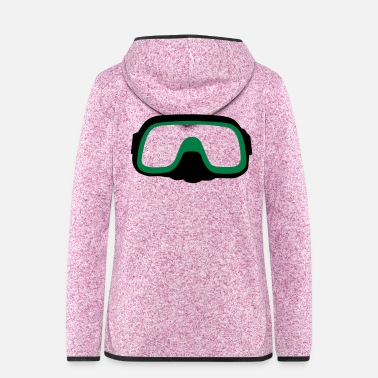 Diving Mask diving Mask - Women's Hooded Fleece Jacket