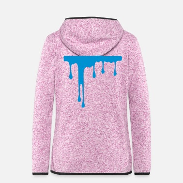 Painting paint - Women's Hooded Fleece Jacket