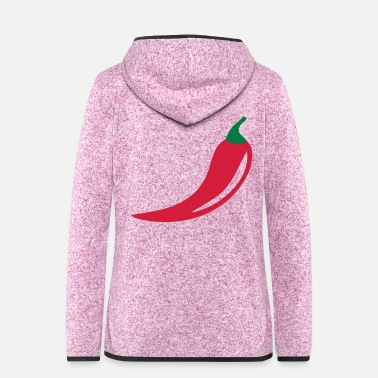 Chili Chili - Women's Hooded Fleece Jacket