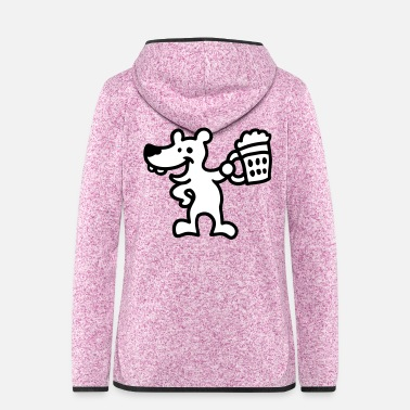 Cheers Cheers - Bear - Women's Hooded Fleece Jacket