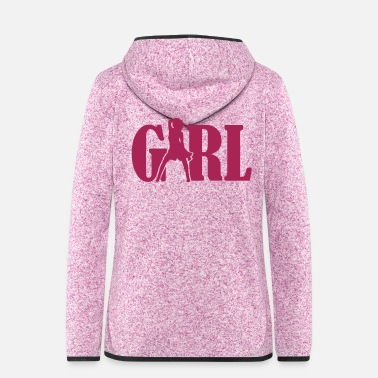 Girl Girl - Women's Hooded Fleece Jacket