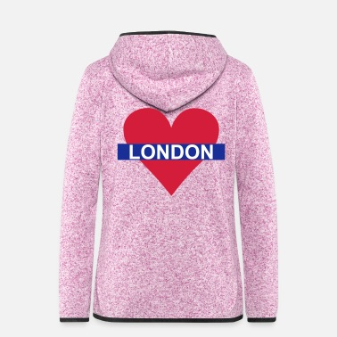 Underground Love London - Underground - Frauen Fleece Kapuzenjacke