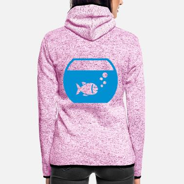 Aquarium Aquarium Fish - Women's Hooded Fleece Jacket