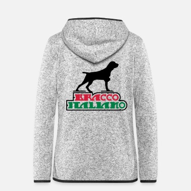 Wingshooter bracco_italiano - Women's Hooded Fleece Jacket