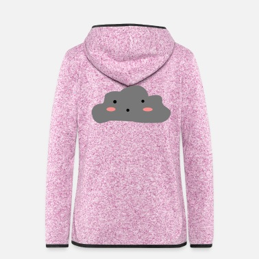 Cloudy Cloudy skies - Women's Hooded Fleece Jacket