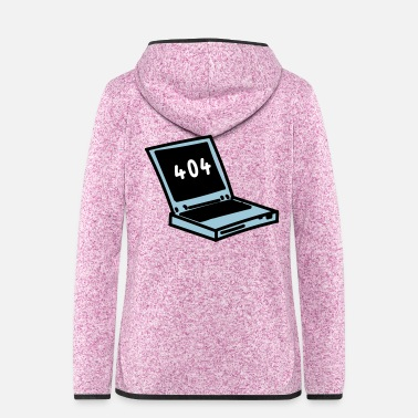 Laptop Laptop - Women's Hooded Fleece Jacket