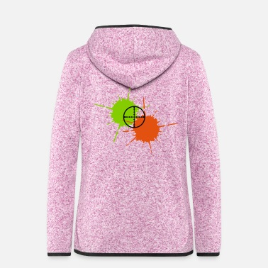 Paintball Paintball - Women's Hooded Fleece Jacket