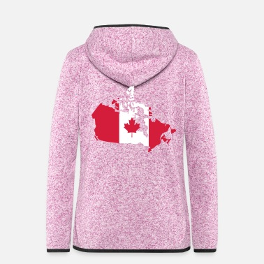 Canada Canada - Women's Hooded Fleece Jacket