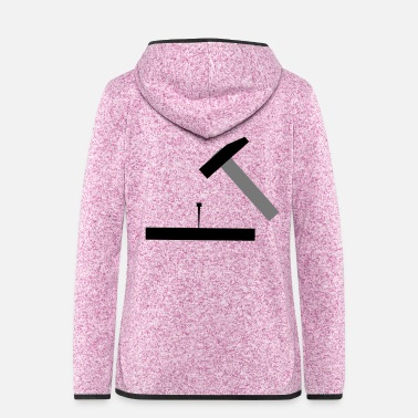 Hammer Hammer - Women's Hooded Fleece Jacket