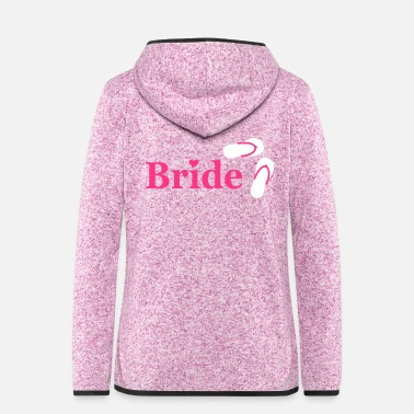 Flop Flip Flop Bride - Women's Hooded Fleece Jacket